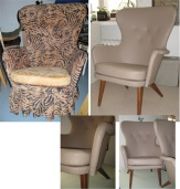 Emma -tuolien moderni ilme