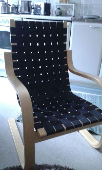 Artekin tuolin uudet vyöt