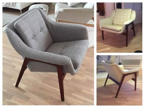 Tyylikäs nojatuoli